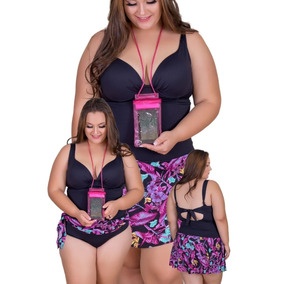 0e71d940cb39 Maios Feminino Plus Size - Moda Praia com o Melhores Preços no Mercado  Livre Brasil