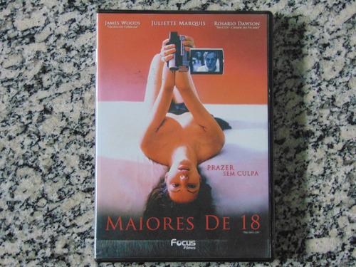 maiores de 18 (dvd original)