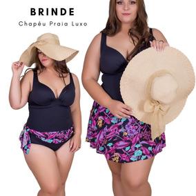 644bec47e Maio Plus Size Mulher M Tamanho G - Moda Praia no Mercado Livre Brasil
