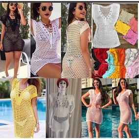 db0bc7c18 Maio Vestido Moda Praia Novidade - Calçados, Roupas e Bolsas Amarelo ...