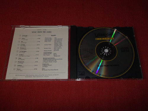 maipu - music from the andes cd imp ed 1994 mdisk
