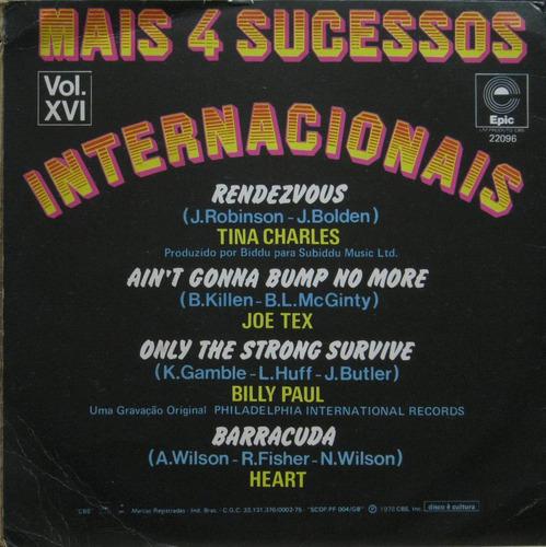 mais 4 sucessos internacionais compacto tina charles heart
