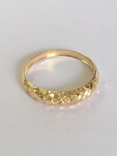 mais barato anel trabalhado feminino em ouro amarelo 18k 750