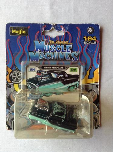 maisto 1/64 muscle machines 1954 nash metropolitan
