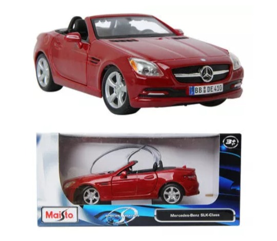 Maisto Carro Esc 1 24 Mercedes Benz Slk Class Juguete D Nino Bs
