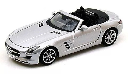 Maisto Carro Esc 1 24 Mercedes Benz Sls Amg Juguete De Nino Bs