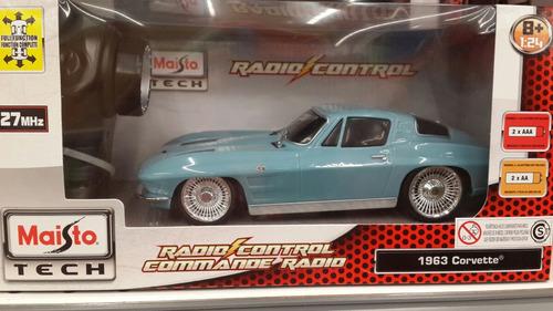 maisto corvette 1963 esc 1:24 radiocontrol