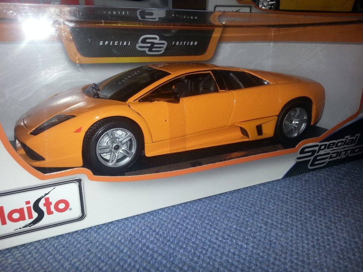 Maisto Lamborghini Murcielago Lp640 Naranja 1 18 1200 1 200