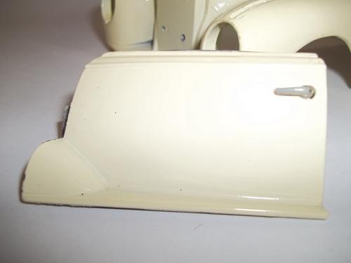 maisto mb 300s 1955 1/18 acessório porta esquerda completa