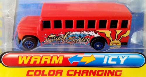maisto micro escolar cambia color fresh shifters bus mrtoy