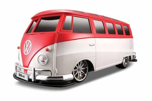 maisto r / c 1:10 scale volkswagen van samba vehículo