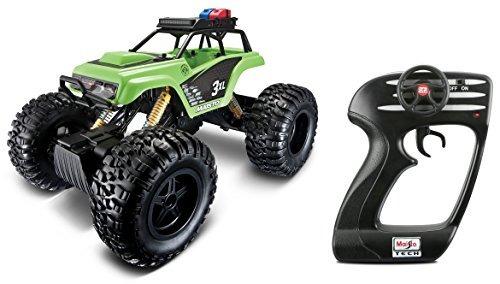 maisto r /c rock crawler 3xl vehículo de radio control