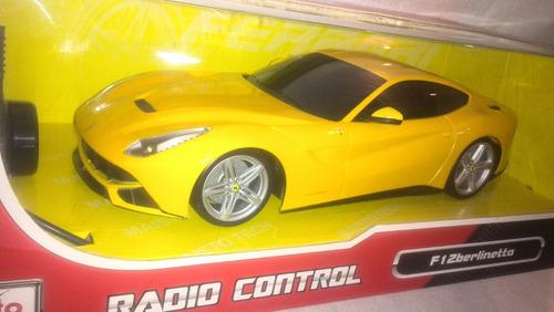 maisto radio control ferrari f12 berlinetta esc 1/14 juguete