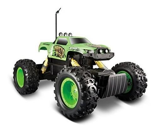 maisto rc rock crawler radio control vehículo (los