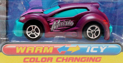 maisto rtr13 auto cambia color fresh paint shifters mrtoy