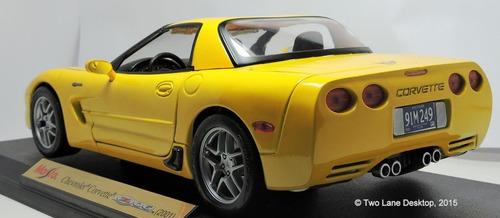 maisto special edition 1/18 escala chevrolet corvette z06