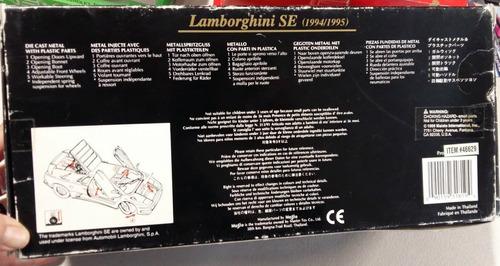 maisto special edition lamborghini se 1:18 envio gratis