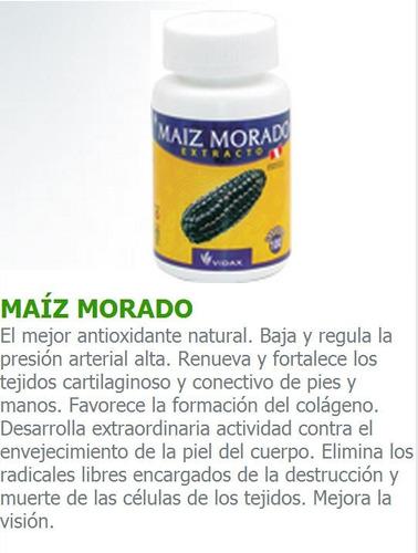 maiz morado antioxidante colgeno envejecimiento piel cuerpo