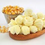 maíz mushroom, aceite louana, sal (  palomitas mantequilla)
