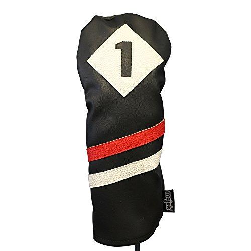 df2ee496f5f3e Majek Retro Funda Para Cabeza De Palo De Golf Color Negro ...