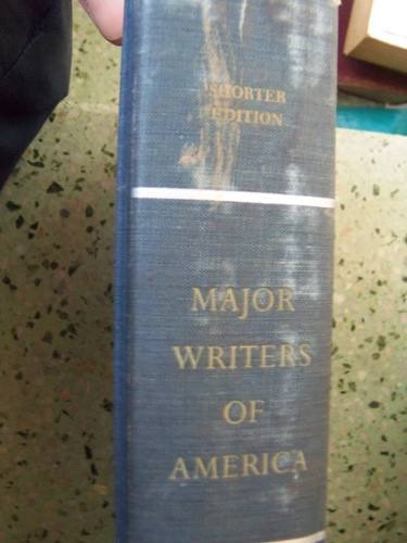 major writers of america seleccion textos en ingles tapa dur