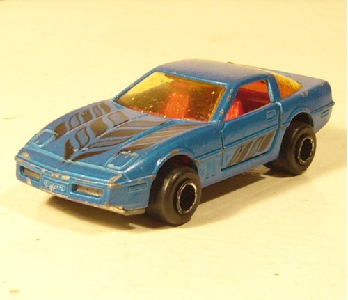 majorette 1984, chevrolet  corvette  1983