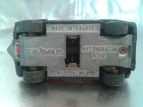 majorette  - autobianchi a 112 m.i france #2