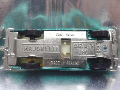 majorette - chrysler 180 m.i. france