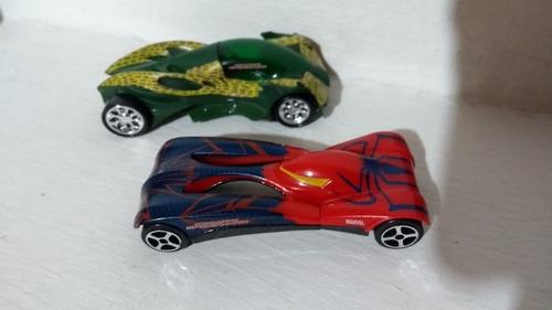 majorette die cast coleccionables1:64 pista carros spiderman