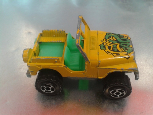 majorette - jeep cj 4x4