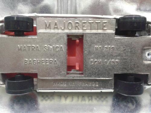majorette - matra simca bagheera     m.i. france