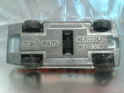 majorette - mercedes 190 e 2.3-16  m.i. france #2
