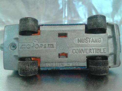 majorette - mustang convertible