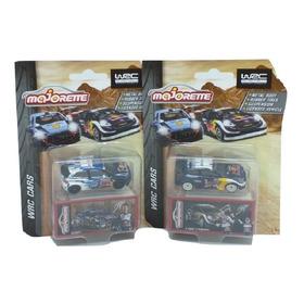 Majorette Red Bull Wrc Cars Vw Polo R + Ford Fiesta 2pz 1:64
