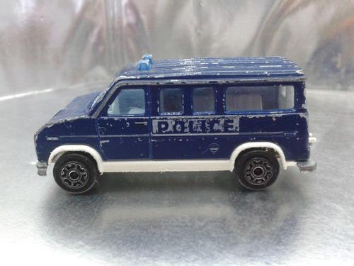 majorette - van fourgon police    m.i. france