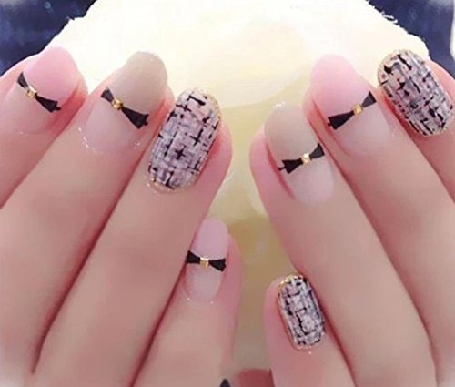 makartt 500 uñas ovaladas puntas naturales de acrílico