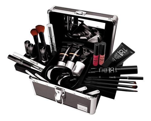 make b. maleta de maquiagem com alça