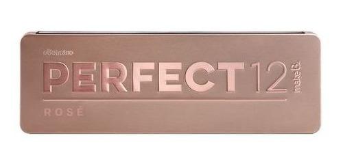 make b. palette maquiagem perfect 12 rosé vegano