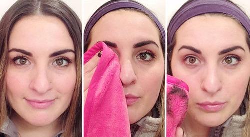 make up eraser toalla 100% original desmaquillante makeup