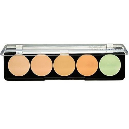 make up for ever 5 camuflaje crema paleta nº 1