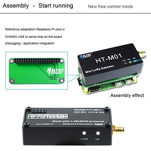 Makerfocus Mini Lora Gateway Lorawan Sx1301 Chip 868mhz Admi