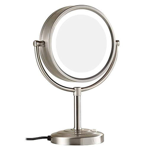 makeup mirror double-sided led 8.5 inches