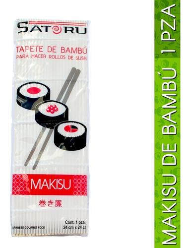 makisu, tapete para hacer sushi 1 pieza (24x24cm)