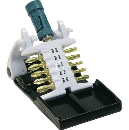 makita b-31893 juego de puntas ultra magnetic driver, 21 pie
