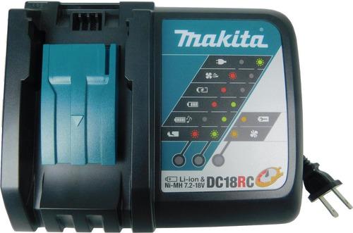 makita dc18rc 18v de iones de litio cargador óptimo rápido