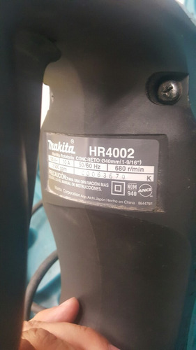 makita martillo sds max 1 9/16 gps 1 vel hr 4002