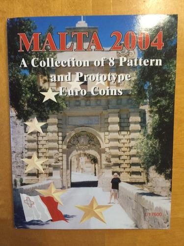 mal-s02 set 8 monedas malta 2003 pattern prueba ayff