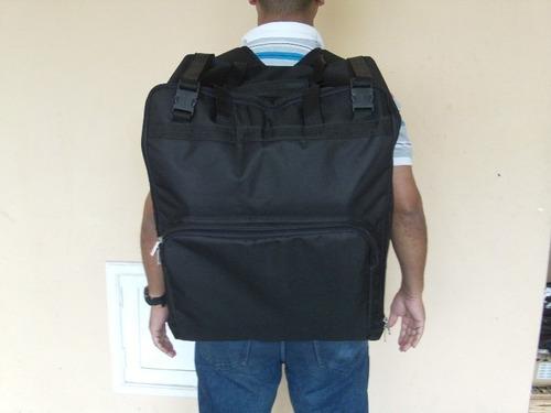 mala bolsa mochila p/transportar computador imac apple 54cm