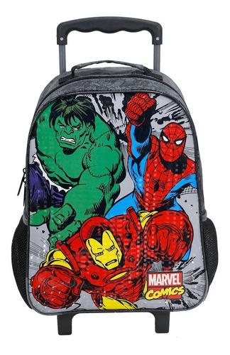 mala com rodas 16 marvel comics heroes - 7550