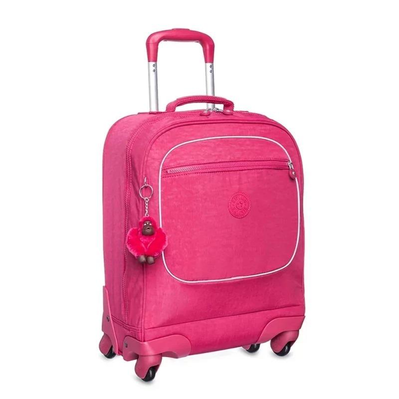 cabc5016c Mala Com Rodinhas Kipling Licia True Pink - R$ 899,00 em Mercado Livre